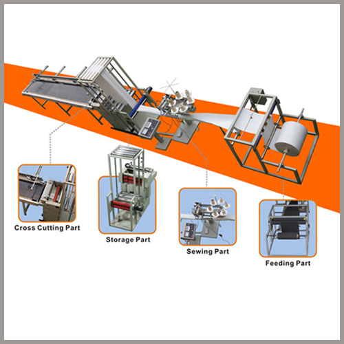 automatic filter bag sewing machine