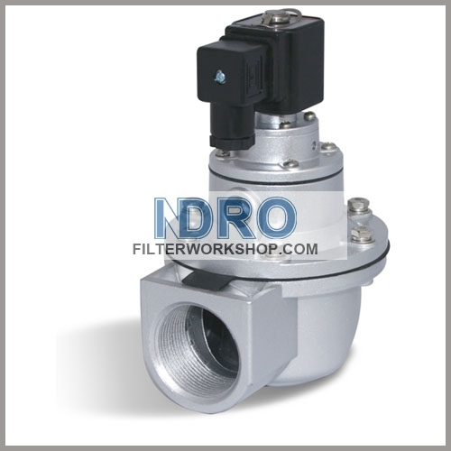 "G1 1/2"" Right Angle Pulse Valve- SOLENOID Valve"