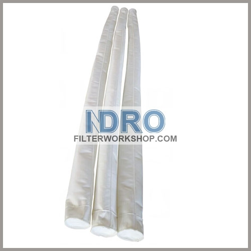 polyester filter sleeves/PE filter sleeves with good price