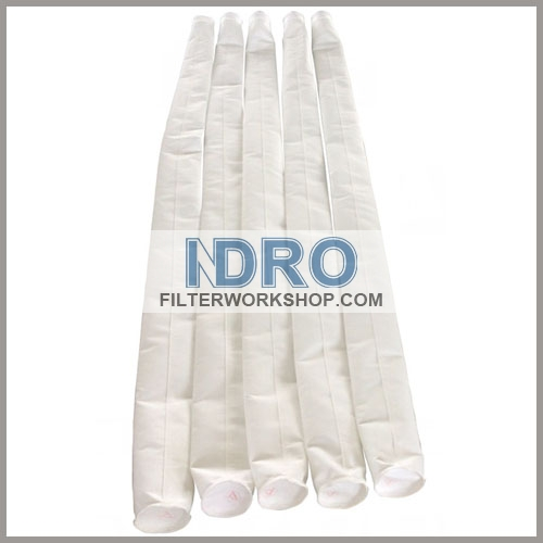 China polyester filter sleeves/China PE filter sleeves with good price