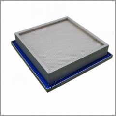 H13 to U16 Gel Sealant Mini-Pleated HEPA/ULPA Filter