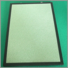 cotton basic, nickel-based, non woven fabric air filter for car/automobile air filter/purifier/cleaner