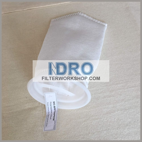100 micron size 3# pp(polypropylene) filter bag
