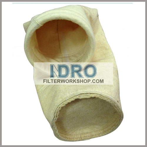 filter bags/sleeve used in hot metal treatment/iron melt treating