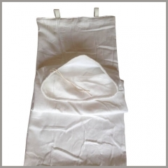 filter bags/sleeve used in dryer of Ingot mould process in steel industry