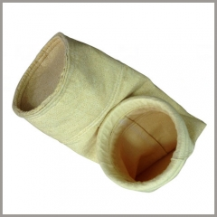 filter bags/sleeve used in blast furnace gas cleaning system/process