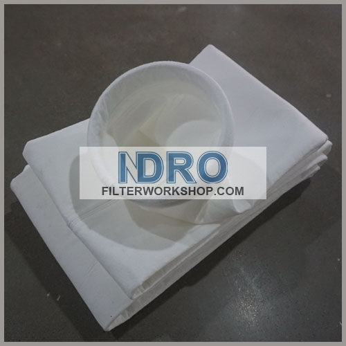 filter bags/sleeve used in coking/refractory material storage and crushing