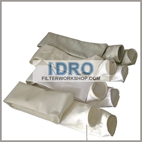 filter bags/sleeve used in preparation and melting of imperial smelting furnace