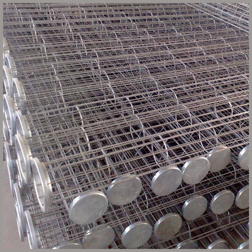 Bagging Cement Plants : Stainless steel ss filter cages for cement plant
