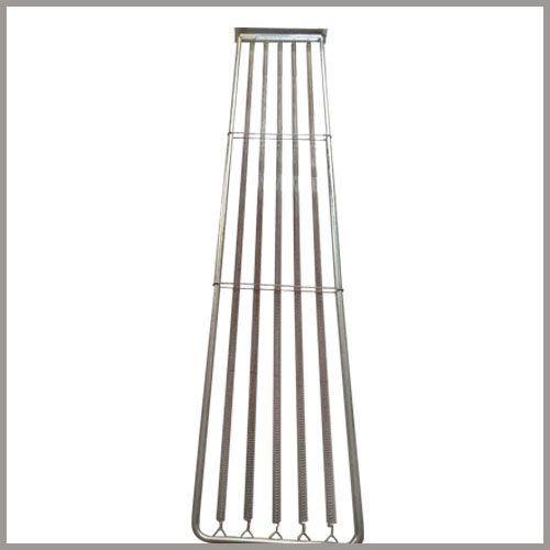 Flat Spring Dust Collector Filter Bag Cages
