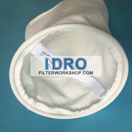 size 1#  5 micron polyester filter bags