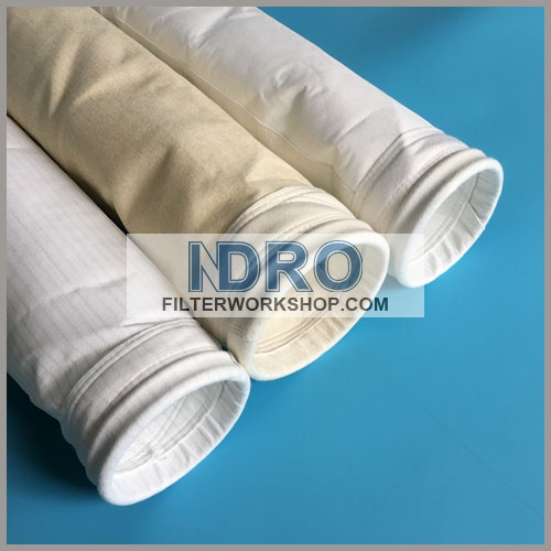 Filter bag for cement