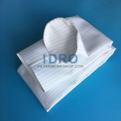 Raw top dust collector filter bags(sleeves)